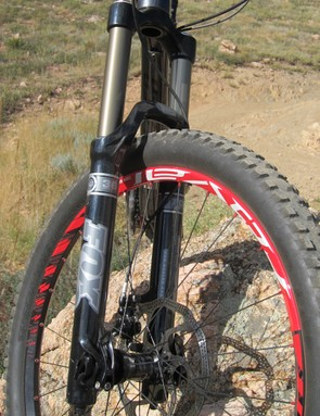 Specialized add an extra 10mm of travel up front on the EVO over the standard Enduro, for a total of 170mm