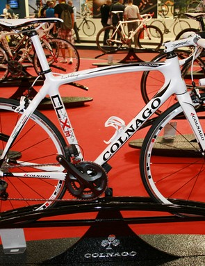 Colnago's new CLX 3.0 is available with Shimano's Ultegra Di2 electronic groupset