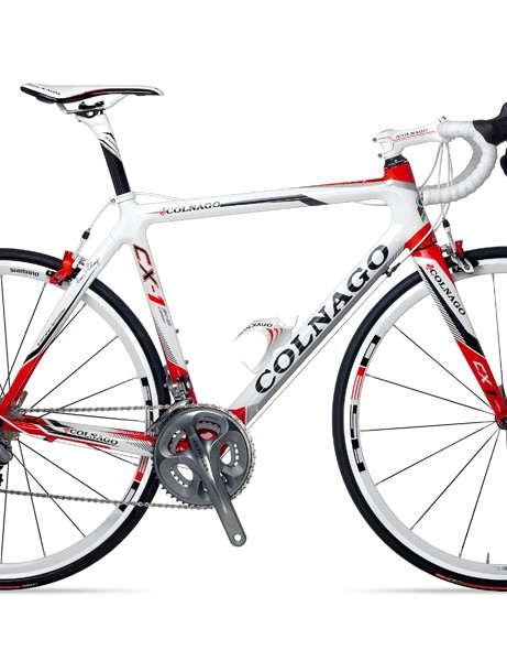 Colnago's CX-1 Evo has a new head tube, fork and chainstays for 2012, and is Di2-compatible