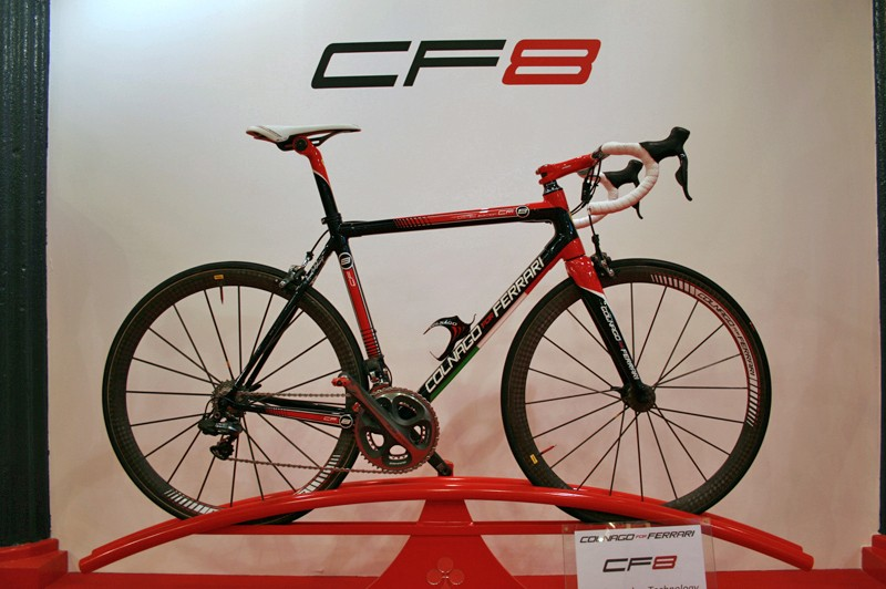The CF8 is the latest fruit of Colnago's long-standing relationship with Ferrari