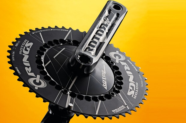 Rotor 3D Aero TT chainset