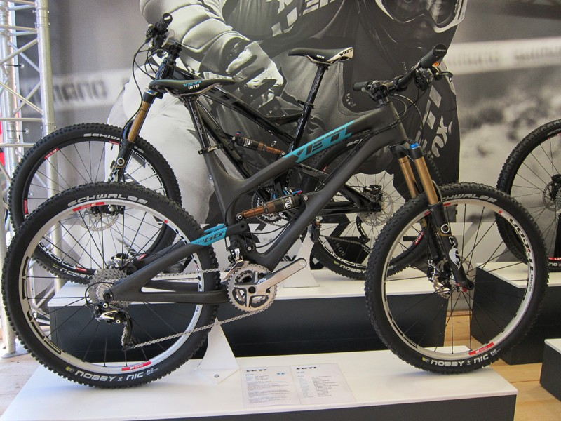 Yeti have added a carbon fiber SB-66c trail bike to their range for 2012