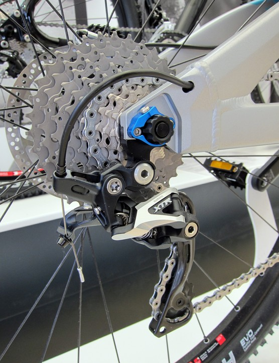 The new Yeti SB-95 full-suspension 29er uses the company's interchangeable rear dropout system