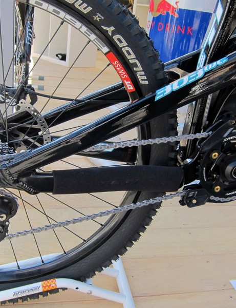 Huge aluminum tubes mark the rear end of Yeti's new 303 WC