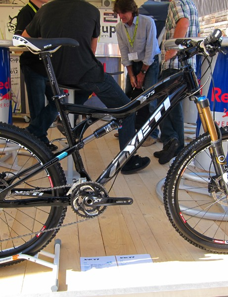 Yeti have added a new lower-cost full-aluminum 575 model for 2012