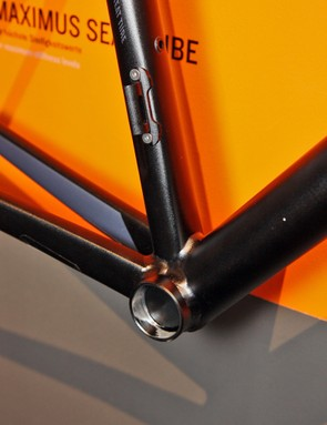 Canyon has given the Maximus seat tube a new shape on its revamped Ultimate AL frame