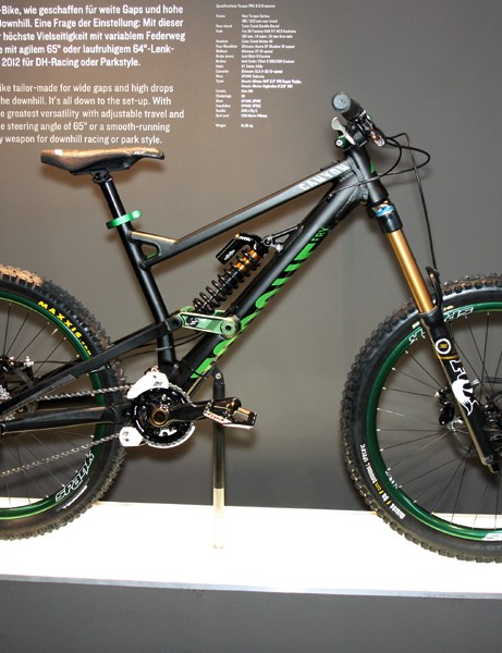 The new Canyon Torque FRX is highly adjustable in both travel and geometry