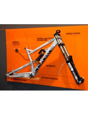 Canyon aims its new Torque FRX platform at park and downhill riders