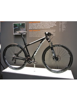 Canyon introduced a new Grand Canyon AL alloy 29er hardtail at this year's Eurobike show