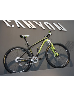 The Canyon-sponsored Topeak-Ergon team has been testing 29er carbon hardtails this season