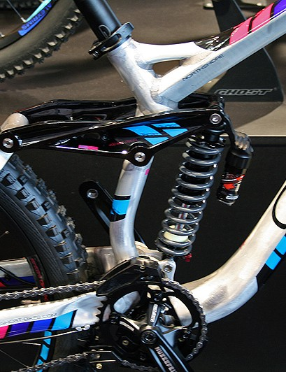 The Northshore's short 430mm chainstays are said to contribute to an agile ride