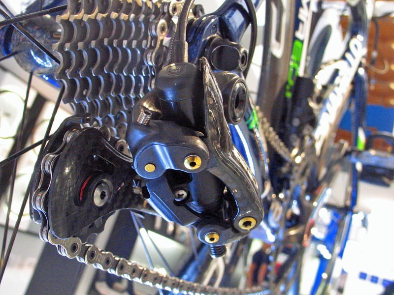Campagnolo's electronic Tech Lab 11 drivetrain is nearing completion