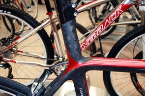 An integrated seatpost and natural carbon finish contribute to the Space Concept's good looks. In the US, expect to pay $2,755