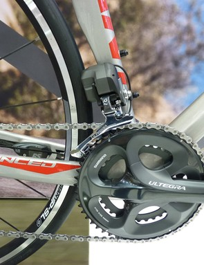Giant are using Shimano Ultegra Di2
