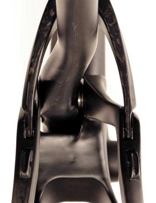 Ripley's asymmetric seat tube