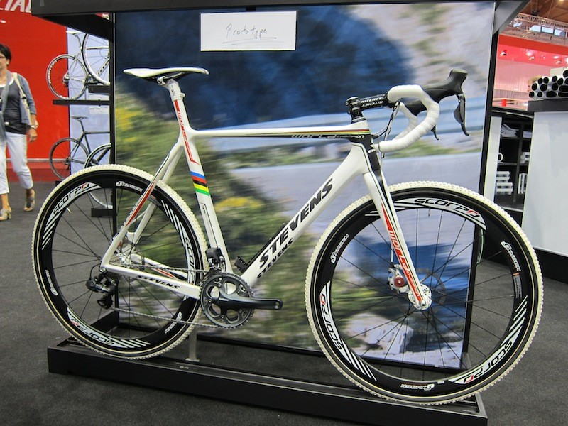 Stevens' new prototype disc cyclo-cross bike