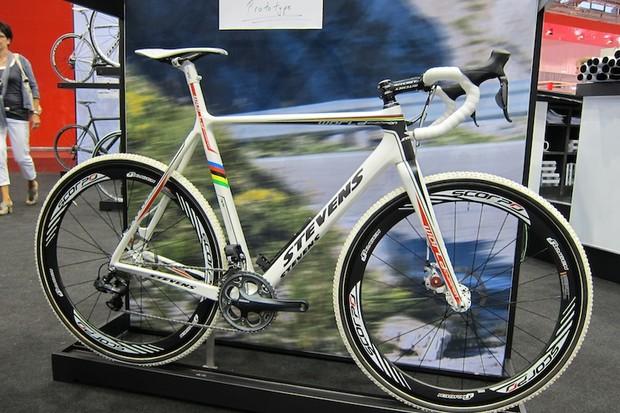 Stevens' new prototype disc cyclo-cross bike