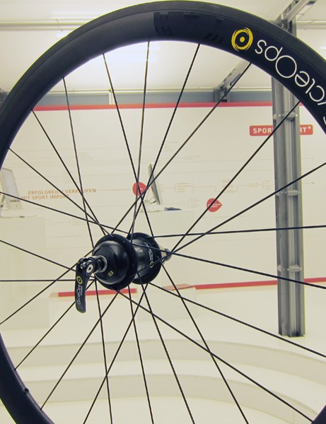PowerTap will continue to offer complete wheelsets using either Velocity aluminum clincher rims or ENVE Composites carbon tubulars
