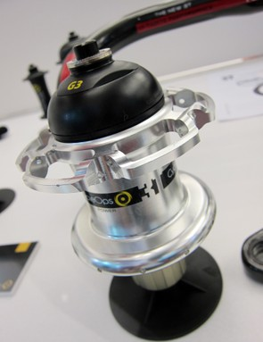 CycleOps also created a special PowerTap G3 hub shell for use in 3T's new Mercurio wheels