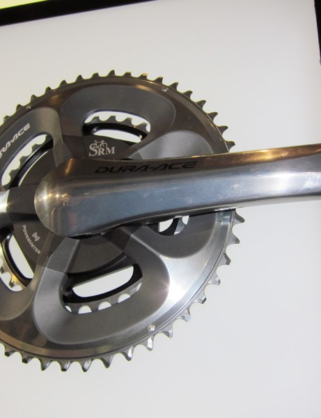 SRM's diverse range of power meter options includes a Shimano Dura-Ace compact model