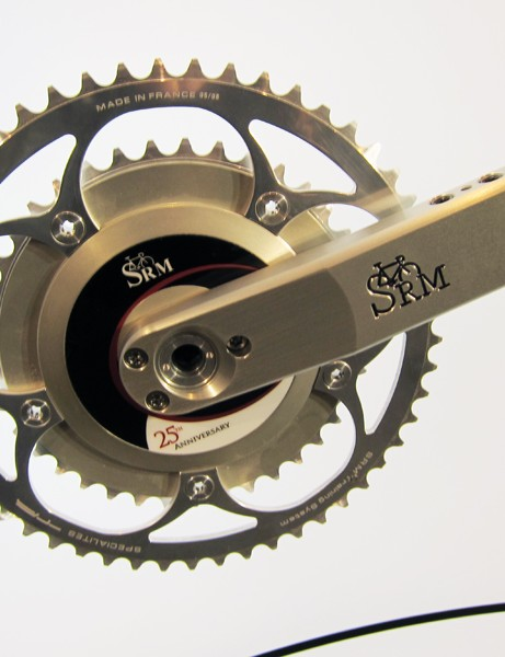 SRM don't just produce power meters for use out on the road. Their scientific models have additional features such as adjustable crankarm length