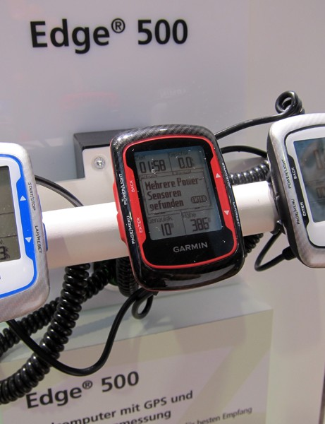 Garmin have added new colors for their popular Edge 500 GPS computer