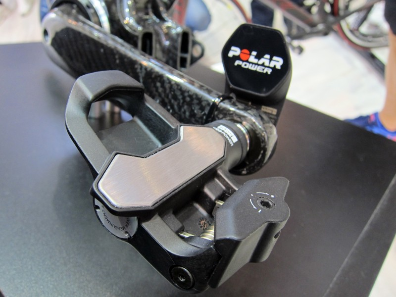 Look's KeO Power pedals were shown in production form at Eurobike. We've got a set in our hands right now so expect a First Ride review very soon