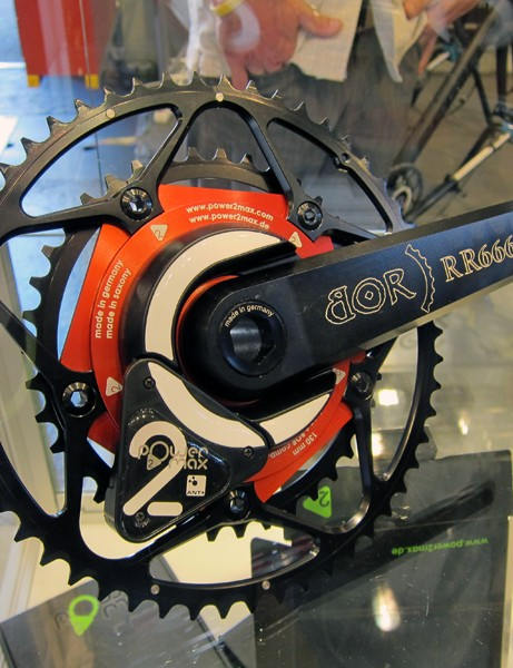 German company power2max have power measuring spiders to fit a wide range of cranks - even lesser known ones like this one from Bor