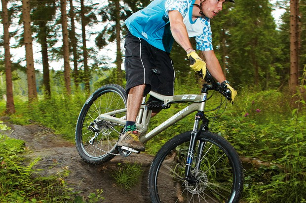 The Rockrider is a decent bike for less dynamic riders