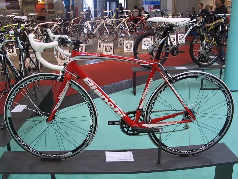 The Impulso is Bianchi's new aluminium sportive bike
