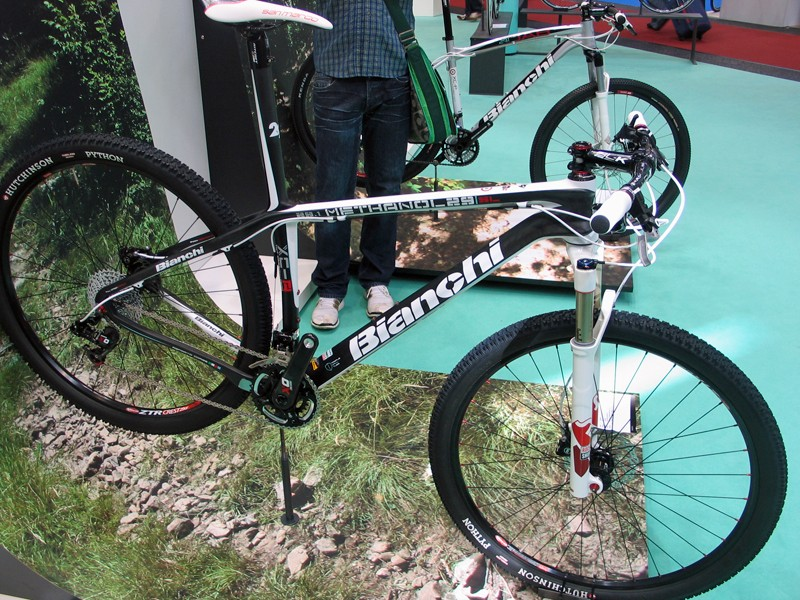 Bianchi's top-of-the-range 29SL with Sram X0 and RockShox SID fork
