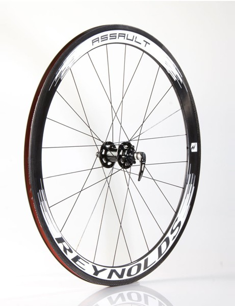Reynolds' new Assault CX cyclo-cross wheelset is compatible with six-bolt disc rotors