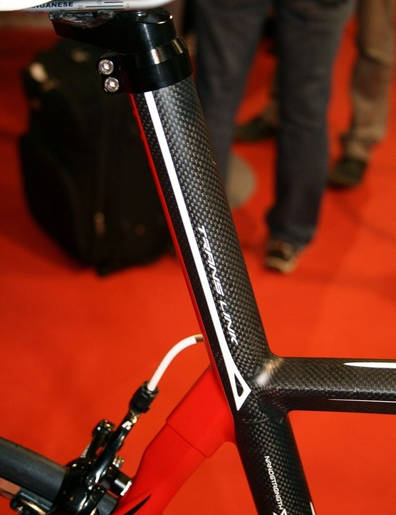 Time's new sportive machine features an integrated seatmast