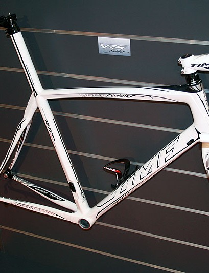The Time VRS Fluidity frameset costs €3,490
