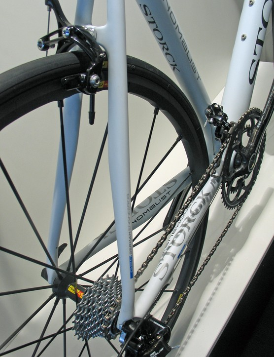 The rear end of Storck's Fenomalist has been reworked after rider feedback suggested smaller sizes had a harsh feel