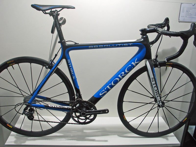 Storck's Absolutist is an all-new frame for 2012