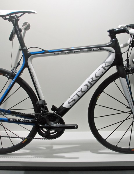 Storck's Di2-specific Scentron is available as a frame only or with Ultegra or Dura-Ace electronic drivetrains