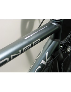 The Visioner features classy Prodium alloy tubing worked into Storck's latest squared-off round-profile shape