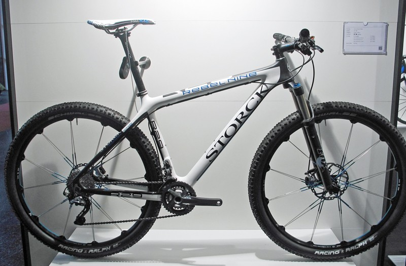 Storck's latest mountain bike platform, the 29er Rebel Nine, is headed up by this 10.8kg XTR-equipped model