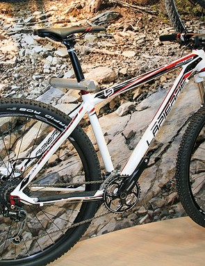 An alloy version of the Pro Race 29er is available in the shape of this 229