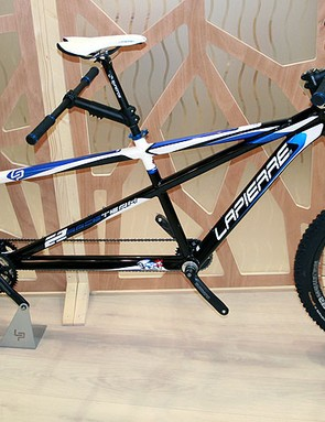 The Lapierre X2 Team Tandem, inspired by their Froggy range, is unchanged for 2012