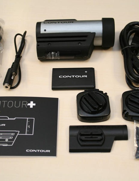 Contour+ helmet camera - what's in the box