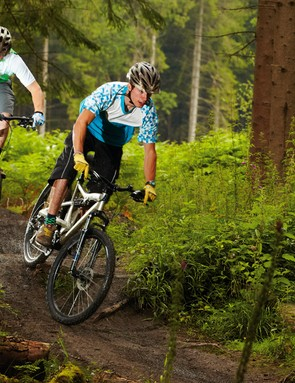 The slight trail softening benefits of budget full-suspension bikes tend to be offset by high bike weights and component compromises