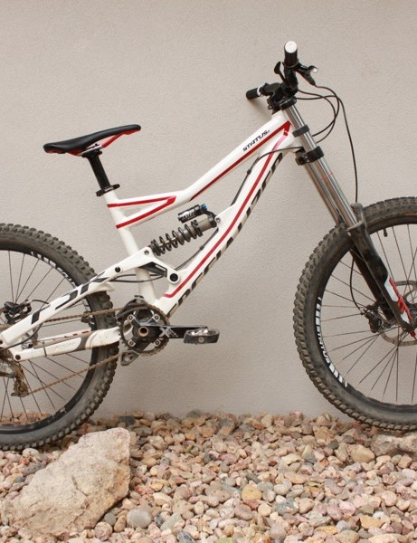 Specialized's Status looks fast standing still