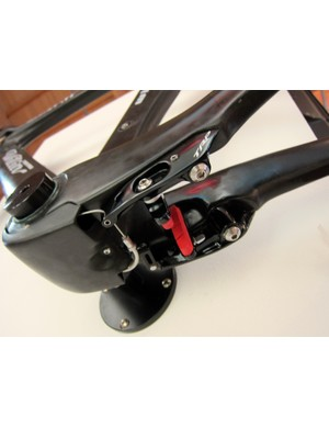TRP's time trial brakes have been widely adopted by frame designers for their clean lines and easy adjustability