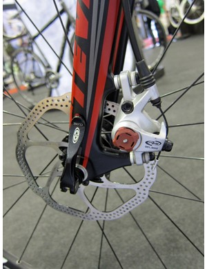 Avid's BB-7 remains the top choice for mechanical disc brakes for 'cross at the moment, though that's sure to change next season
