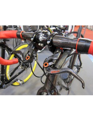 DBikes had several variants on display at Eurobike, including this setup using Magura brakes