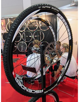 Citec market their Ascender S disc wheelset as an option for 29ers but they showed it at Eurobike with 'cross tires fitted