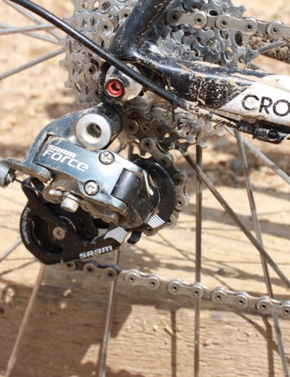 The second tier Force rear derailleur preforms identically to the top tier Red model