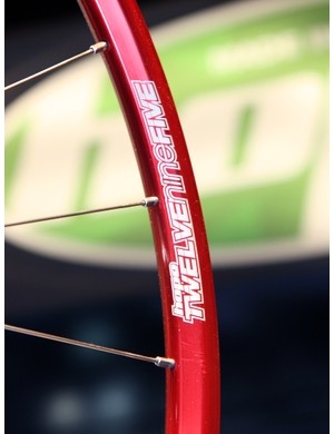 Hope use NoTubes rims for their lightest-weight wheelsets
